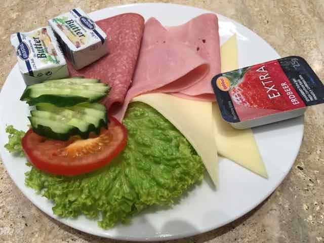 Dinea Frühstückszeiten